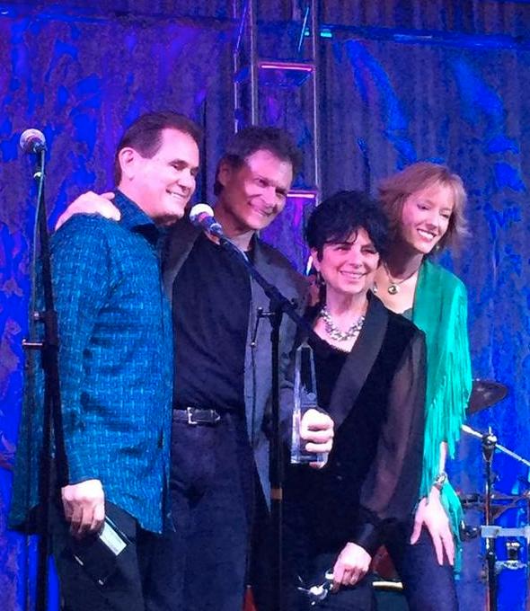 Positive Music Awards 2015-Harold, JD, Jan, Marcy