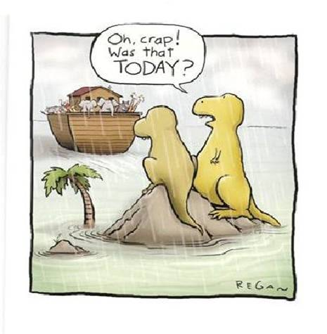 Dinos miss the boat